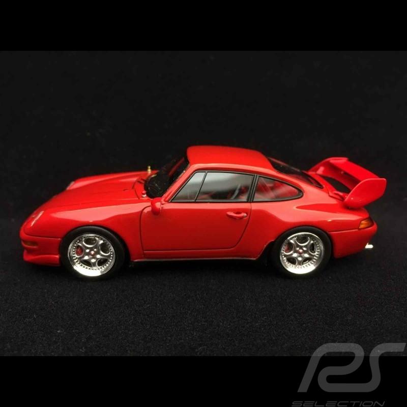 Porsche 911 type 993 Cup 3.8 1/43 Schuco 450888700 rouge Indien India red Indischrot