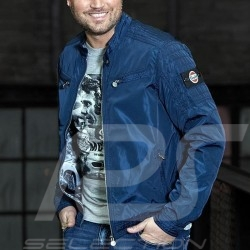 Gulf 50 years  Racer Jacket navy blue - men
