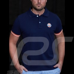 Polo shirt Gulf Classic 50 years navy blue - men