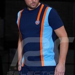 T-shirt Gulf Racing Team 50 ans - homme bleu marine navy bkue marineblau