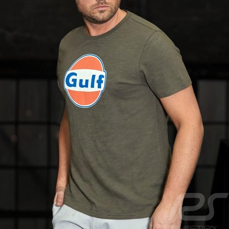 T-Shirt Gulf 50 years olive green - men