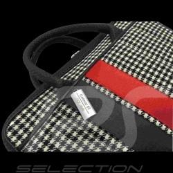 Laptop / computer bag 911 classic houndstooth / vinyl Basketweave
