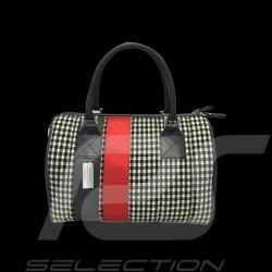 Handtasche 911 classic Hahnentritt / vinyl Basketweave