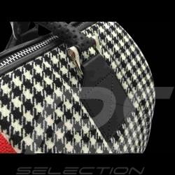 Hand bag 911 classic houndstooth / vinyl Basketweave
