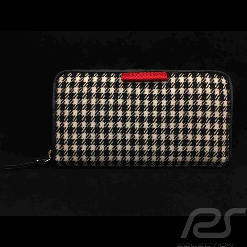 Wallet money holder 911 classic pepita / vinyl Basketweave