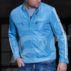 Jacket Gulf Racing light blue - men