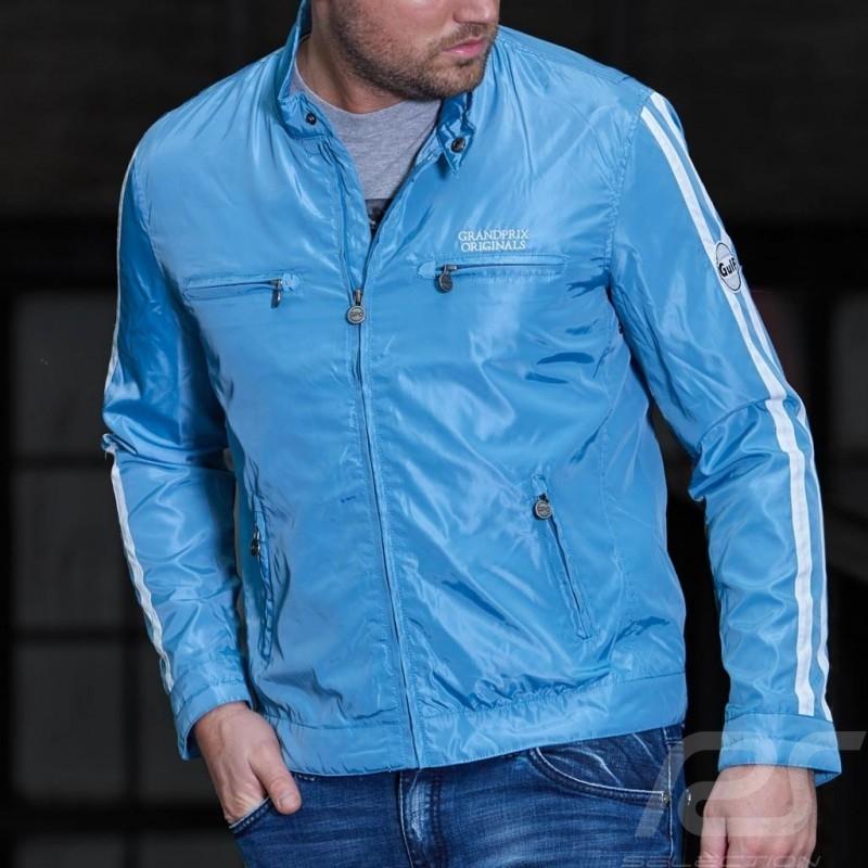 Veste Gulf Racing - homme men herren bleu clair light blue hellblau