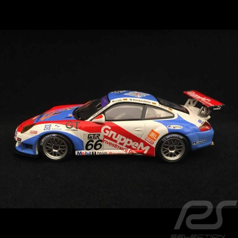 Porsche 911 type 996 GT3 RSR Winner Spa 2005 n° 66 1/43 Minichamps 400056466