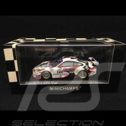 Porsche 911 type 996 GT3 Cup 24h Spa 2005 n° 124 1/43 Minichamps 400056224