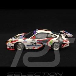 Porsche 911 typ 996 GT3 Cup 24h Spa 2005 n° 124 1/43 Minichamps 400056224