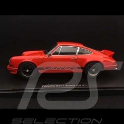 Porsche 911 Carrera RS 2.7 1973 orange / schwarz 1/18 Autoart 78054