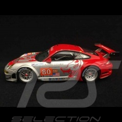 Porsche 911 type 997 GT3 RSR Le Mans 2010 n° 80 1/43 Minichamps 410106980