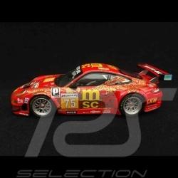 Porsche 911 type 997 GT3 RSR Le Mans 2009 n° 75 1/43 Minichamps 400096975
