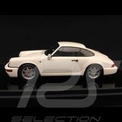 Porsche 911 type 964 Carrera 2 1990 blanche 1/43 Make Up Vision VM125B