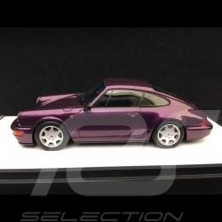 Porsche 911 type 964 Carrera 2 1990 violet 1/43 Make Up Vision VM125D