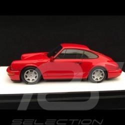 Porsche 911 type 964 Carrera 2 1990 rouge Indien 1/43 Make Up Vision VM125A