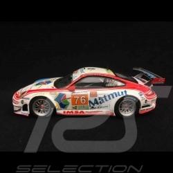 Porsche 911 typ 997 GT3 RSR Le Mans 2010 n° 76 1/43 Minichamps 410106976