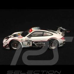 Porsche 911 typ 997 GT3 R Spa 2011 n° 75 1/43 Minichamps 400118975