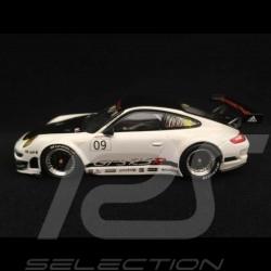 "Porsche 911 type 997 GT3 RSR ""Promo"" 2009 n° 9 1/43 Minichamps 400096909"