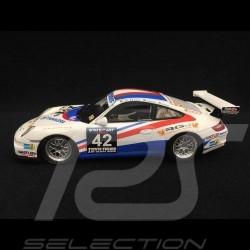 Porsche 911 type 997 GT3 Cup Dubaï 2009 n° 42 1/43 Minichamps 437096942 Vainqueur Winner Sieger