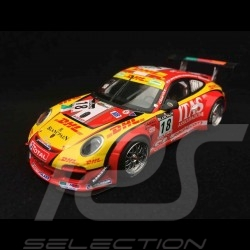 Porsche 911 type 997 GT3 R Spa 2011 n° 18 1/43 Minichamps 400118918