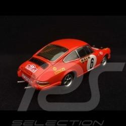 Porsche 911 S Monte Carlo 1970 n° 6 1/43 Schuco 450356000 Vainqueur Winner Sieger
