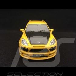 Porsche Cayenne Hamann Guardian 2011 jaune 1/43 Neo NEO45695