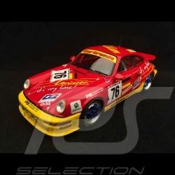 Porsche 911 type 964 Carrera Cup Le Mans 1993 n° 76 1/43 Spark S2071