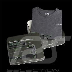 T-shirt Porsche 911 GT3 RS grey Porsche Design WAP811 - men