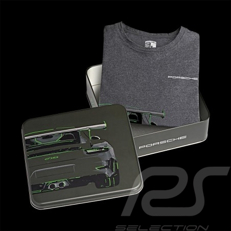 T-shirt Porsche 911 GT3 RS gris Porsche Design WAP811 - homme