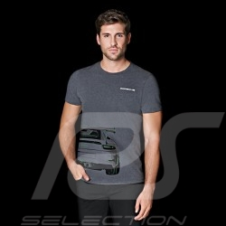 T-shirt Porsche 911 GT3 RS grey Porsche Design WAP811 - men