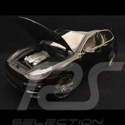 Porsche Cayenne Turbo S 2014 noir 1/18 Minichamps 110064000