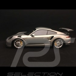 Porsche 911 type 991 GT3 RS 2015 argent 1/18 Minichamps 153066233