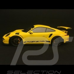 Porsche 911 type 991 GT3 RS 2015 yellow 1/18 Minichamps 153066230