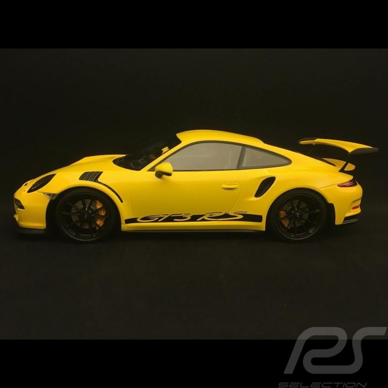 Porsche 911 type 991 GT3 RS 2015 jaune 1/18 Minichamps 153066230