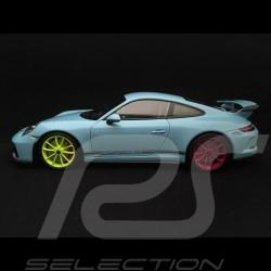 Porsche 911 type 991 GT3 Gulf blue 1/18 Minichamps WAX02100034