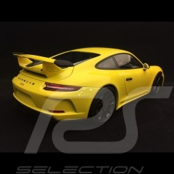 Porsche 911 GT3 type 991 jaune Racing 1/18 Minichamps WAX02100033