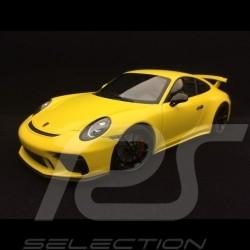 Porsche 911 GT3 type 991 Racing Yellow 1/18 Minichamps WAX02100033
