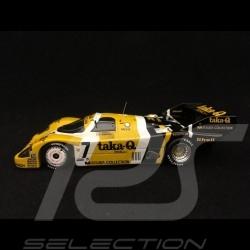 Porsche 956 winner 1000 km Fuji 1986 n°7 New Man 1/43 Spark SJ019