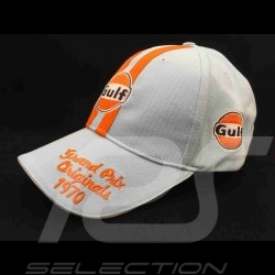 Cap Gulf Vintage Grand Prix 1970 gulf blue/ orange