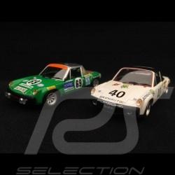 Duo Porsche 914 6 24h Le Mans 1/43 Minichamps 400716569 400706540