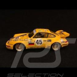 Porsche 911 Carrera RSR type 964 24h du Mans 1994 n° 45 Heico 1/43 Spark S5511