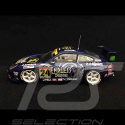 Porsche 911 GT3 R type 996 JGTC 2002 n° 24 Taisan Advan 1/43 Ebbro 370 vainqueur Winner Sieger