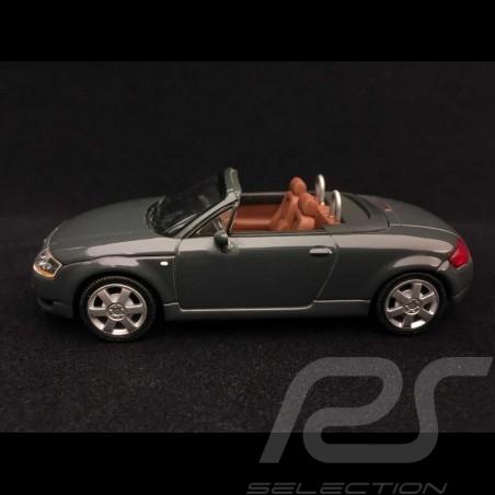 Audi TT Roadster 1999 gris foncé 1/43 Minichamps 20000000617