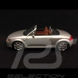 Audi TT roadster 1999 silver grey 1/43 Minichamps 20000000617