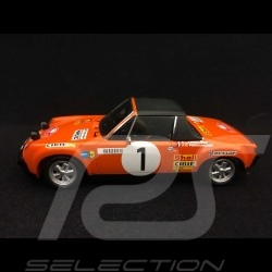 Porsche 914 6 Monte Carlo 1971 n° 1 1/43 Spark S5583