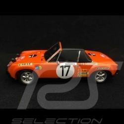 Porsche 914 6 Monte Carlo 1971 n° 17 1/43 Spark S5584