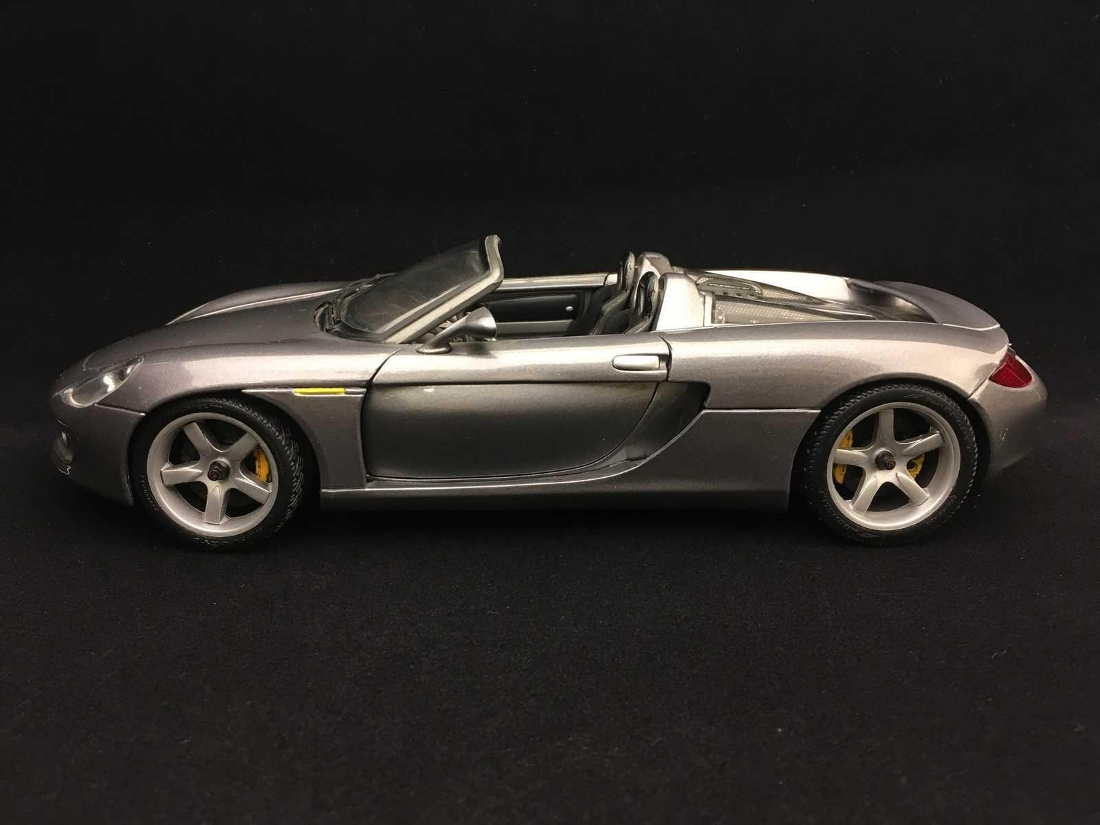 Porsche Carrera Gt 2003 Grey 1 18 Maisto 36622 Selection Rs