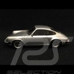 Porsche 911 Carrera 3.2 Coupe 1984 silver grey 1/43 Spark S2038