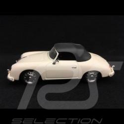 Porsche 356 A Cabriolet 1957 ivoire clair 1/43 Schuco 02691